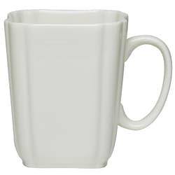 Red Vanilla Pinpoint White Mugs (Set of 6)