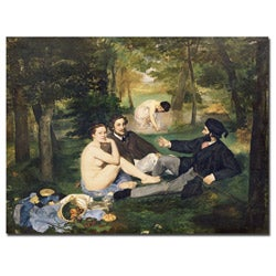 Edouard Manet 'Dejeuner sur l'Herbe, 1863' Gallery-wrapped Canvas Art