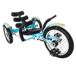 Mobo Mobito Blue 16-inch Ultimate 3-wheeled Cruiser
