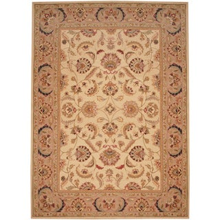 Herat Oriental Asian Hand-tufted Tabriz Wool Rug (8' x 11')