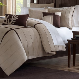 Madison Park Dune 6-piece Beige Duvet Cover Set