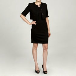 Jessica Howard Petite Quilted 2-piece Jacket Dress FINAL SALE