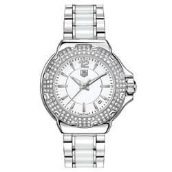 TAG Heuer Women's 'Formula 1' Ceramic Diamond Watch