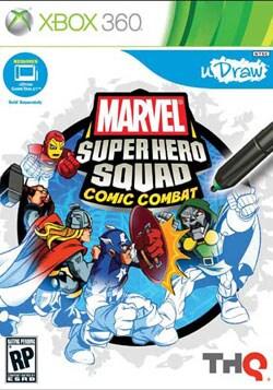 Xbox 360 - uDraw Marvel Super Hero Squad: Comic Combat