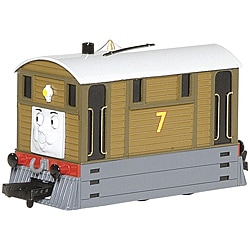 Bachmann HO Scale Thomas and Friends Toby the Tram Engine with Moving Eyes - Thumbnail 0
