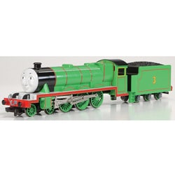 Bachmann HO Scale Thomas and Friends Henry the Green Engine with Moving Eyes