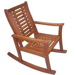 Fine Eucalyptus Rocking Chair Overstock Com Shopping The Best Deals On Sofas Chairs Sectionals Cjindustries Chair Design For Home Cjindustriesco