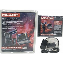 Meade 506 Astrofinder Limited Edition Cable and Astronomy Software Kit - Thumbnail 0