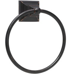 Amerock Markham Oil Rubbed Bronze Bath Towel Ring