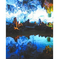 """Stewart Parr """"Guilin, China - Reed Flute Cave"""" Unframed Photo Print"""