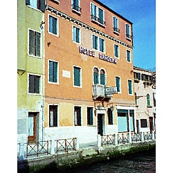 Stewart Parr 'Venice, Italy - canal side hotel' Unframed Photo Print