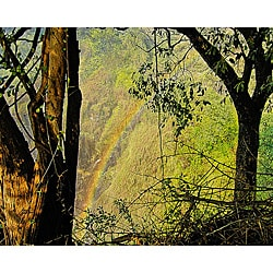Stewart Parr 'Zimbabwe - Victoria Falls Rainbow' Unframed Photo Print