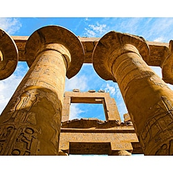Stewart Parr 'Luxor, Egypt - Karnak Temple Pillars' Unframed Photo Print