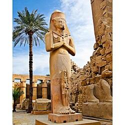 Stewart Parr 'Luxor, Egypt - Karnak Statue' Unframed Photo Print - Thumbnail 0