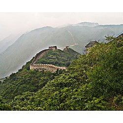 Stewart Parr 'China - Great Wall in the Mist' Unframed Photo Print