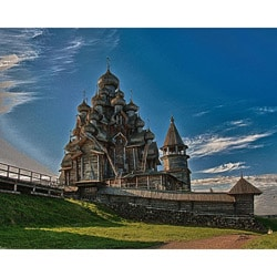 Stewart Parr 'Russia Church of the Transfiguration' Unframed Photo Print