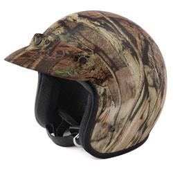 Raider Adult Mossy Oak Open Face Helmet