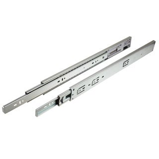 GlideRite 20-inch 2075-ZC Full Extension Soft Close Drawer Slides (Pack of 10 Pairs)