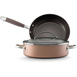 Anolon Advanced Bronze Collection 3-piece Cookware Set