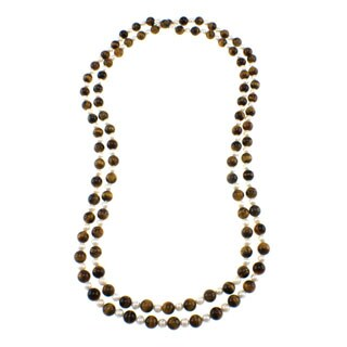 Pearlz Ocean Tiger's Eye and Freshwater Pearl Endless Necklace|https://ak1.ostkcdn.com/images/products/P13845846jt.jpg?_ostk_perf_=percv&impolicy=medium