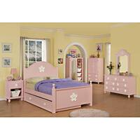 Pink/White Flower Trundle