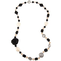 Pearlz Ocean Multi-gemstone Necklace