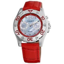 Akribos XXIV Women's Diamond Multifunction Watch