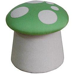 Green Mushroom Ottoman - Thumbnail 0