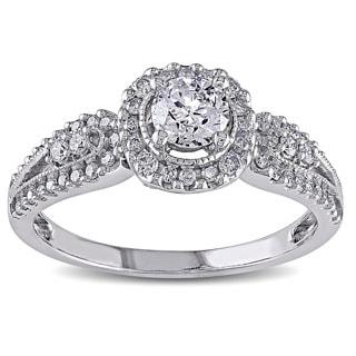 Miadora Signature Collection 14k White Gold 1ct TDW Diamond Ring (G-H, I2-I3)