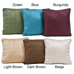 Classic Soft Weave 18x18 Throw Pillows (Set of 2)