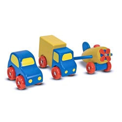 Melissa & Doug First Vehicles Play Set