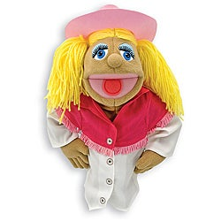 Melissa & Doug Cowgirl Puppet Toy
