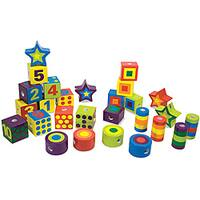 Melissa & Doug Lacing Beads in a Box Jewelry Set