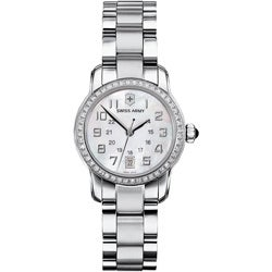 Swiss Army Women's 'Vivante' Pearl Dial Diamond Watch