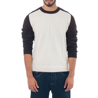 Handmade Men's Alpaca Wool 'Modern Inca' Sweater (Peru)