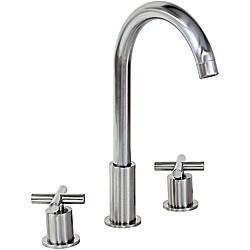 Kokols Widespread Brushed Nickel Bathroom Faucet
