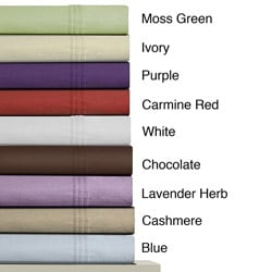 Luxury Extra Deep Pocket Solid Flannel Sheet Set