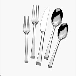Mikasa Rockford 18/0 Stainless Steel 20-piece Flatware Set