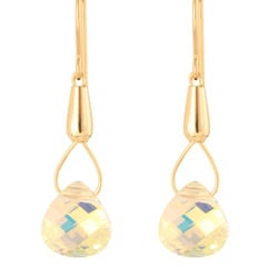 Crystal 'Teardrops of Theia' 14k Gold Fill Earrings