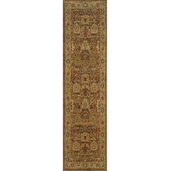 Ellington Rust/Gold Traditional Area Runner Rug (1'11 x 7'6)