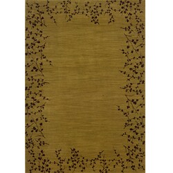 Ellington Gold/Brown Transitional Area Rug - 5'3 x 7'6 - Thumbnail 0