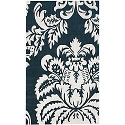 nuLOOM Handmade Pino Damask Rug (7'6 x 9'6)