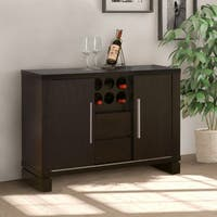Furniture of America Serrano Cappuccino-finish Dining Buffet