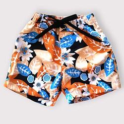 Azul Swimwear Boy's Leaf Print Boardshorts
