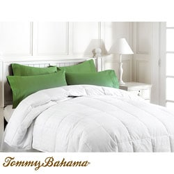 Shop Tommy Bahama Queen/ King size Down Alternative Comforter