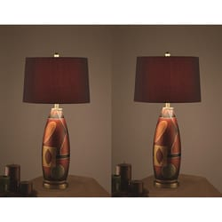 Serengeti 31-inch Table Lamps (Set of 2)