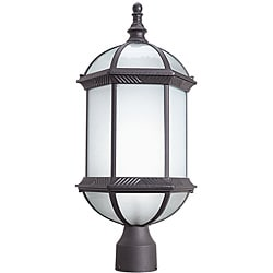 Woodbridge Lighting Glenwood 1-light Rust Outdoor Post Mount Light