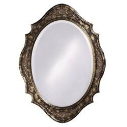 Antique Silver Leaf Tracy Mirror