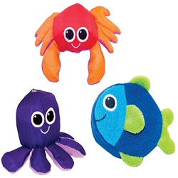 Sassy Soft Swimmers Bath Toys (Pack of 3)