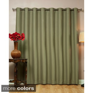 Aurora Home Wide Fire-retardant 96-inch Blackout Curtain Panel - 100 x 96